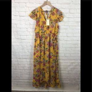 🆕Band of Gypsies Floral/maxi/BoHo Festival Dress